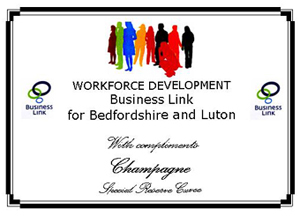 business link champagne label