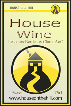 house wine with a difference